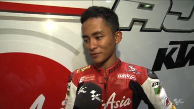 Qatar 2012 - Moto3 - FP2 - Interview - Zulfahmi Khairuddin