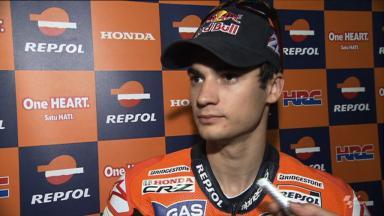 Qatar 2012 - MotoGP - FP1 - Interview - Dani Pedrosa