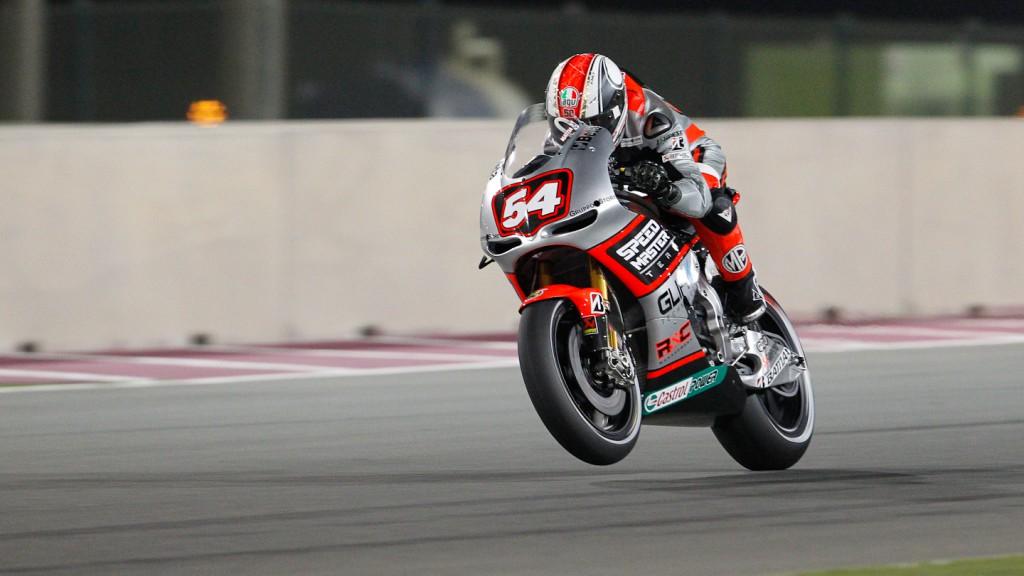 Mattia Pasini, Speed Master, Qatar FP1