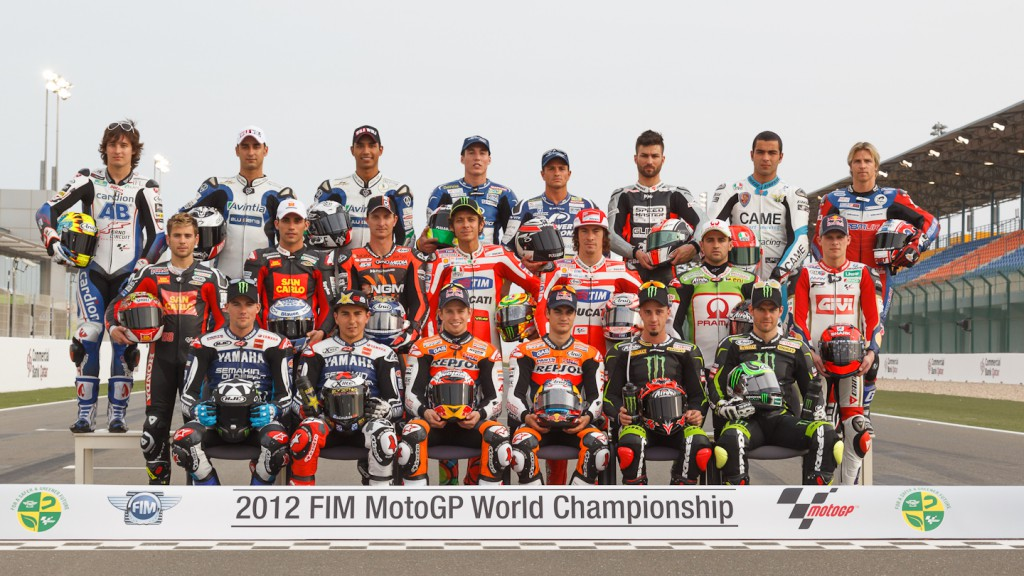 2012 MotoGP World Championship Riders, Qatar