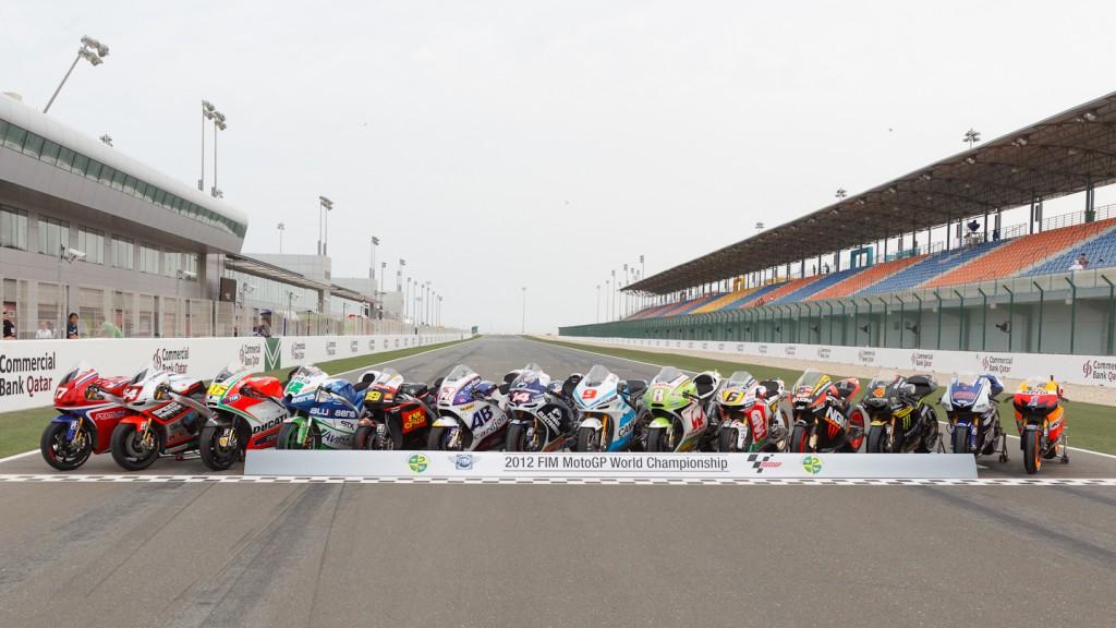 2012 MotoGP World Championship Bikes, Qatar