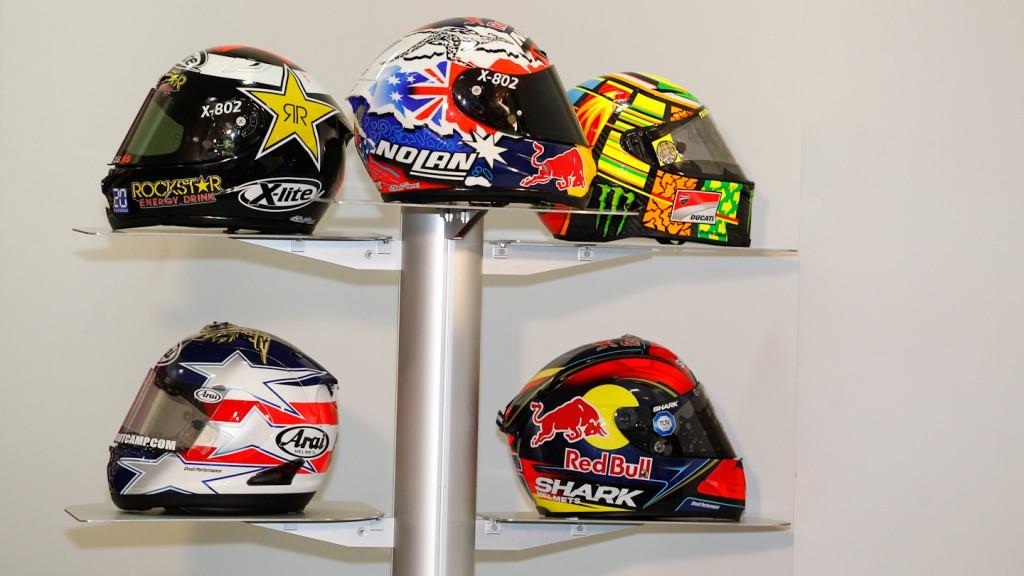 MotoGP Helmets