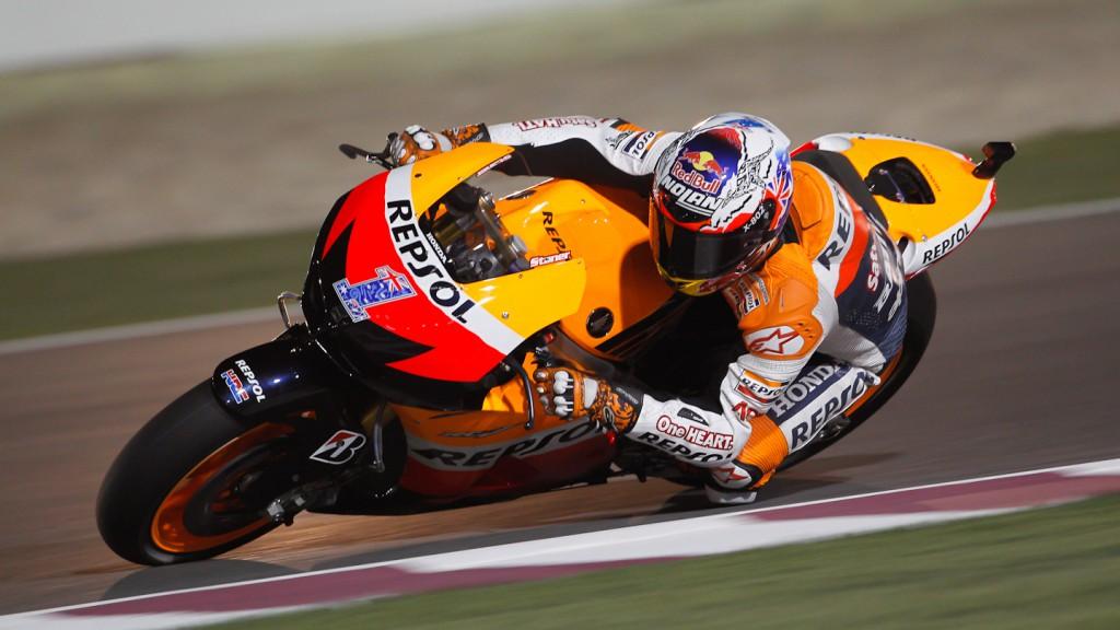 Casey Stoner, Repsol Honda Team, Qatar FP3