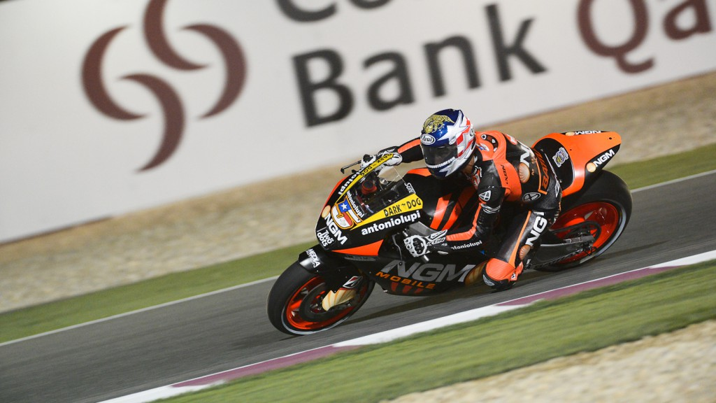 Colin Edwards, NGM Mobile Forward Racing, Qatar FP3