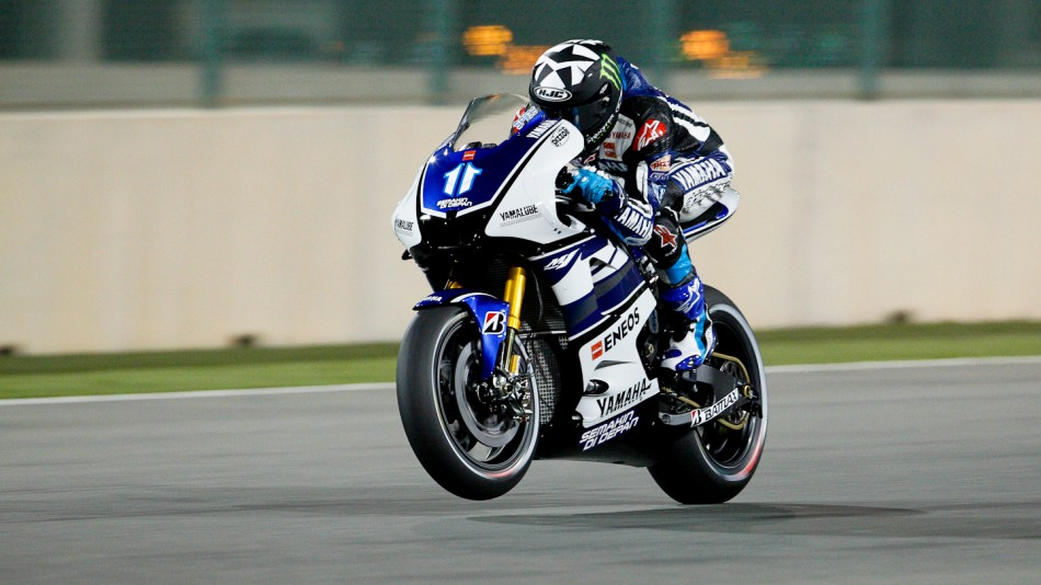 Ben Spies, Yamaha Factory Racing, Qatar FP3