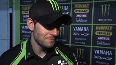 Qatar 2012 - MotoGP - FP3 - Interview - Cal Crutchlow