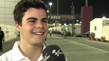 Qatar 2012 - Moto3 - FP3 - Interview - Romano Fenati