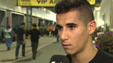 Qatar 2012 - Moto3 - FP3 - Interview - Luis Salom