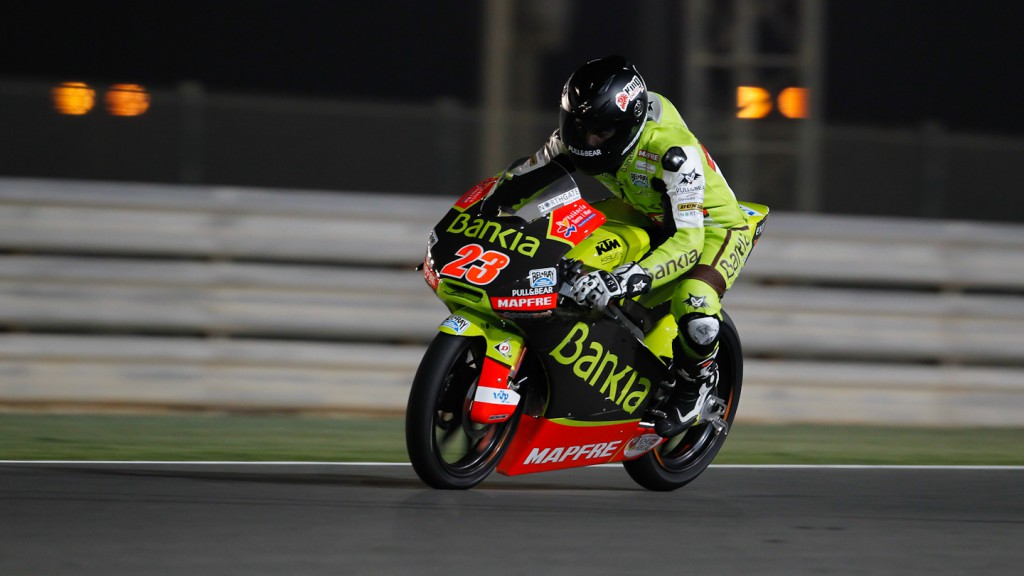Alberto Moncayo, Bankia Aspar Team, Qatar FP3