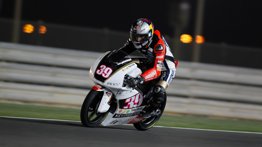 Luis Salom, RW Racing GP, Qatar FP3