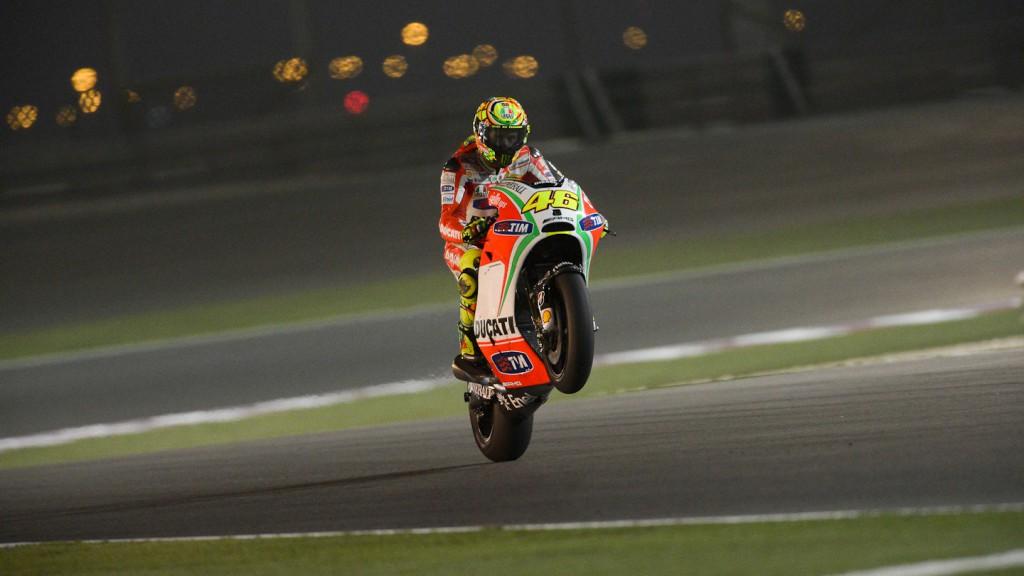 Valentino Rossi, Ducati Team, Qatar FP3