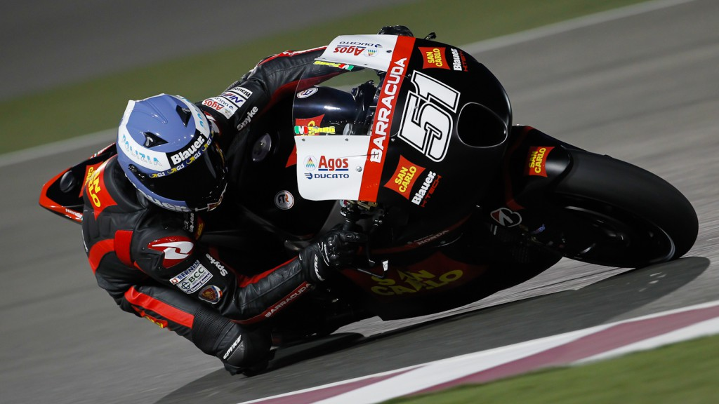 Michele Pirro, San Carlo Honda Gresini, Qatar FP3