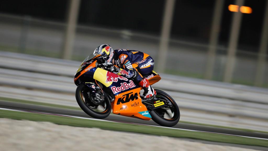 Sandro Cortese, Red Bull KTM Ajo, Qatar QP