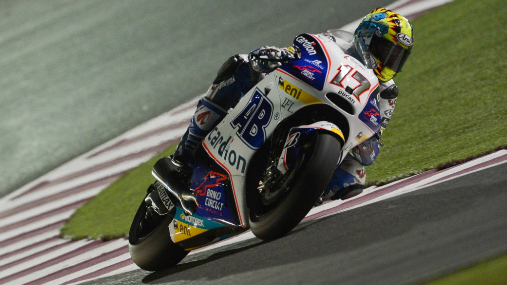 Karel Abraham, Cardion AB Motoracing, Qatar QP