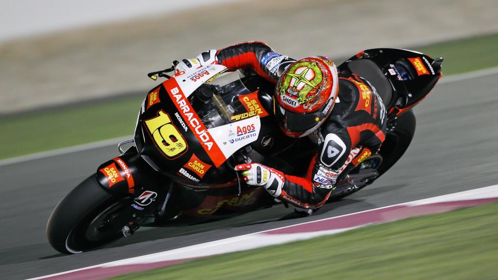 Alvaro Bautista, San Carlo Honda Gresini, Qatar QP