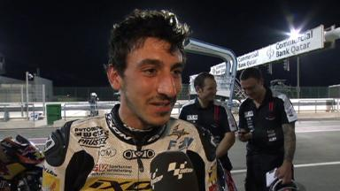 Qatar 2012 - Moto3 - QP - Interview - Louis Rossi
