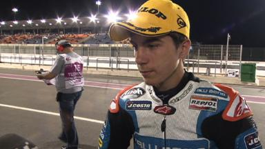 Qatar 2012 - Moto3 - QP - Interview - Maverick Viñales