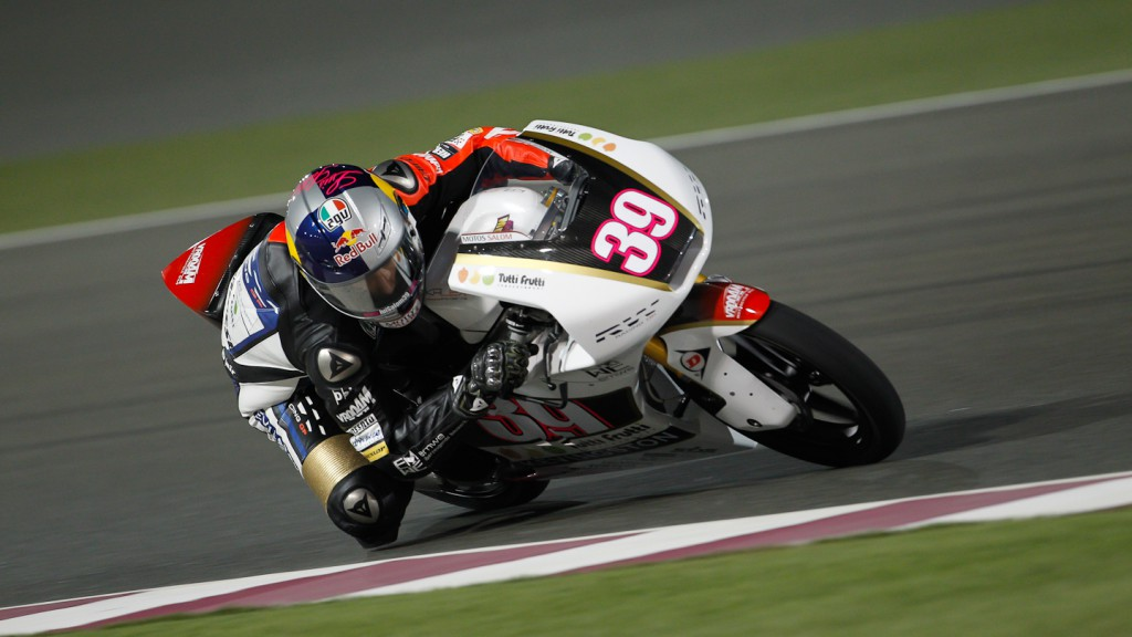 Luis Salom, RW Racing GP, Qatar QP