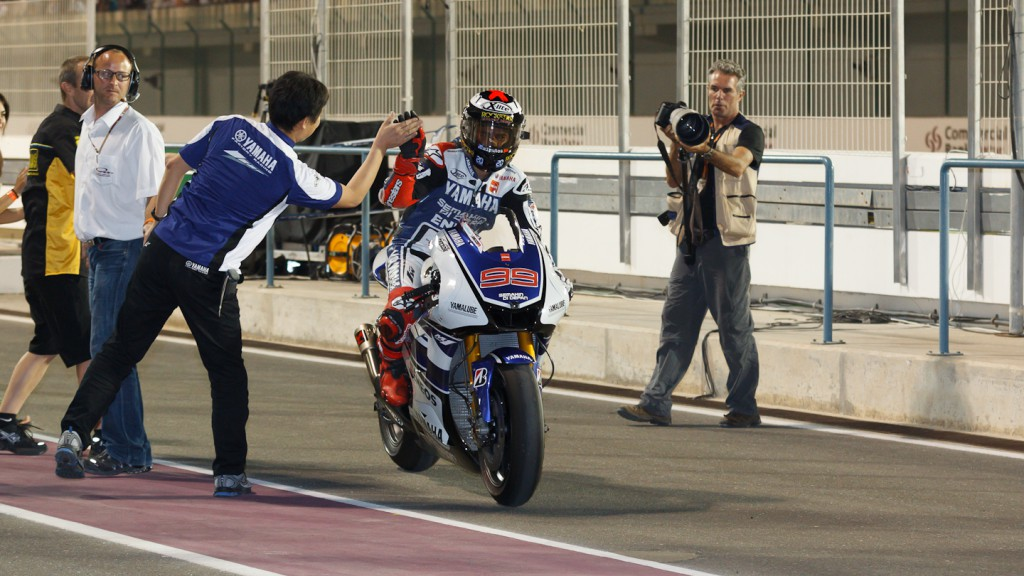 Jorge Lorenzo, Yamaha Factory Racing Qatar RAC