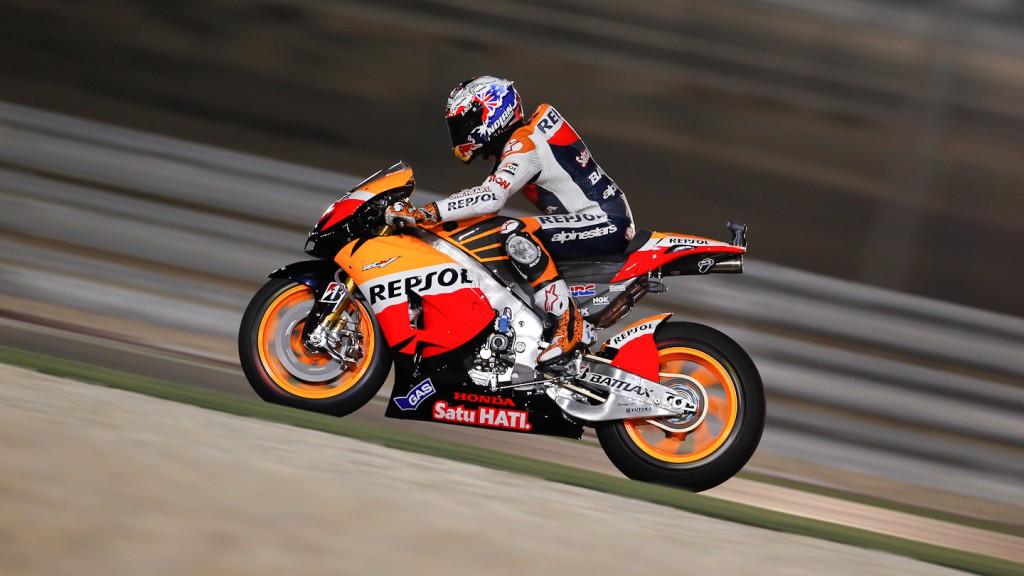 Casey Stoner, Repsol Honda Team, Qatar WUP
