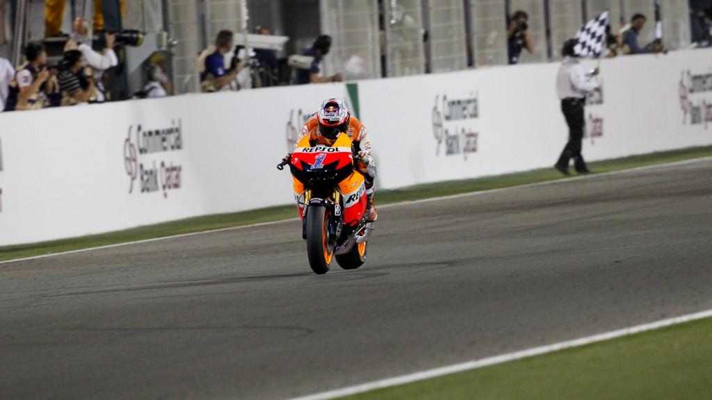 Casey Stoner, Repsol Honda, Qatar Race