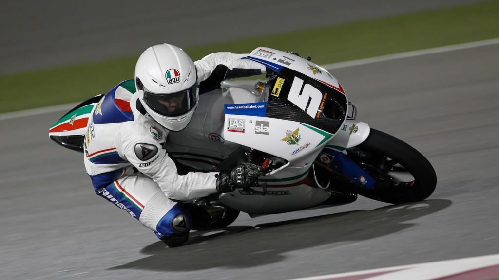 Romano Fenati, team Italia FMI, Qatar RAC