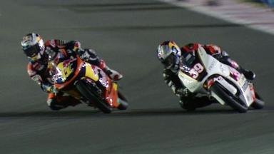 Qatar 2012 - Moto3 - Race - Action - Podium Position Overtake