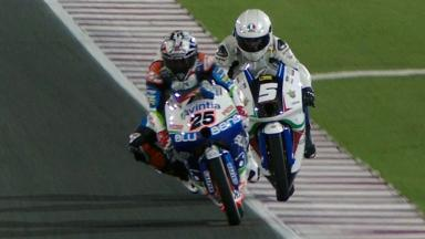 Qatar 2012 - Moto3 - Race - Action - Race Winning Overtake