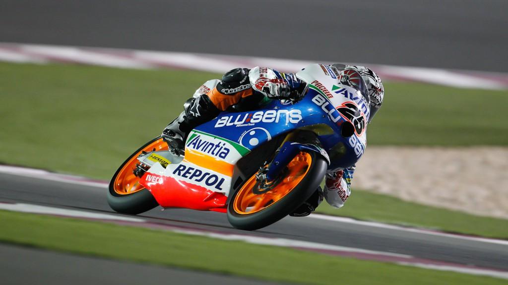 Maverick Viñales, Blusens Avintia, Qatar RAC