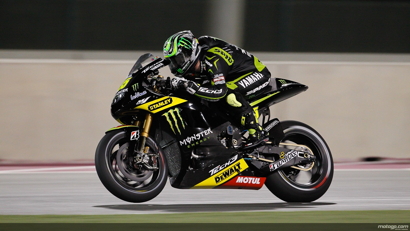 cal crutchlow yamaha tech 3 qatar rac. Black Bedroom Furniture Sets. Home Design Ideas