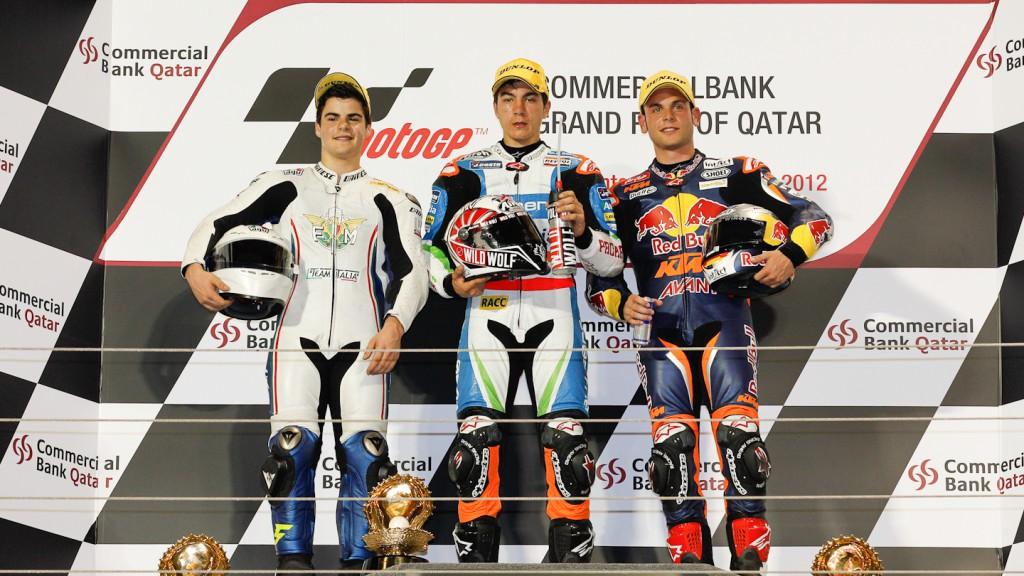 Fenati, Viñales, Cortese, Team Italia FMI, Blusen Avintia, Red Bull KTM Ajo, Qatar RAC