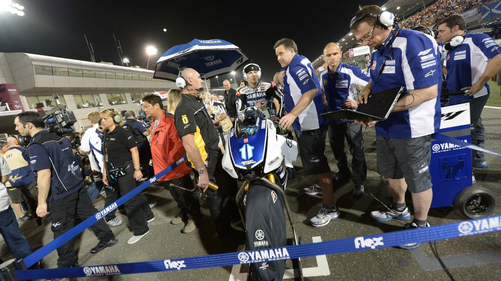Ben Spies, Yamaha Factory Racing, Qatar RAC