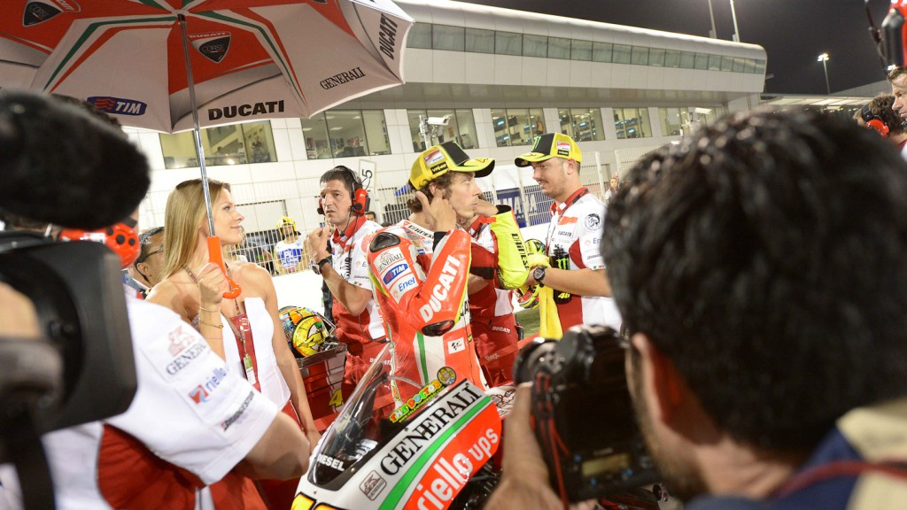 Valentino Rossi, Ducati Team, Qatar RAC