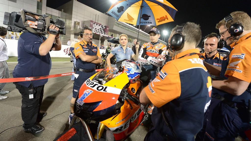 Casey Stoner, Repsol Honda Team, Qatar RAC