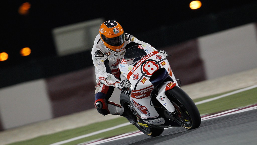 Gino Rea, Federal Oil Gresini Moto2, Qatar RAC