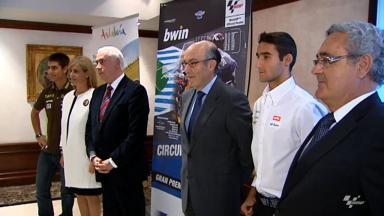 Jerez GP presentation held in Madrid