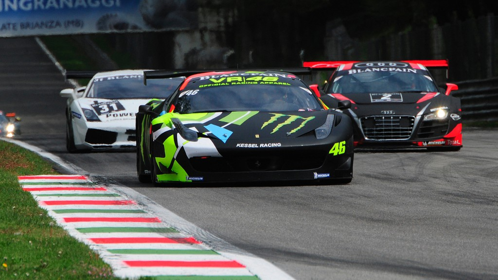 Valentino Rossi, Monza Blancpain GT Endurance Series