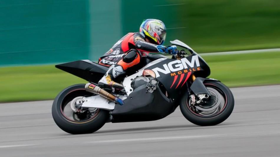 motogp.com · Alex De Angelis, NGM Mobile Forward Racing - CRT Test