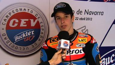 2012 CEV - Navarra - Moto3 - Interview - Alex Márquez