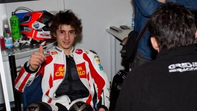 Niccolo Antonelli, San Carlo Gresini Moto3, Box