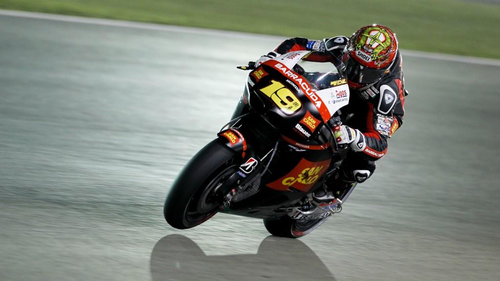 Alvaro Bautista, San Carlo Honda Gresini, Qatar