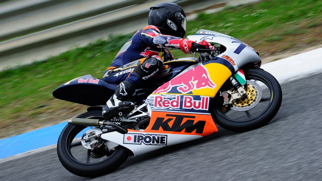 Loenzo Baldasarri, Red Bull Rookies, Test Estoril