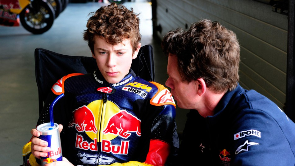 Philipp Oettl, Red Bull Rookies, Test Estoril