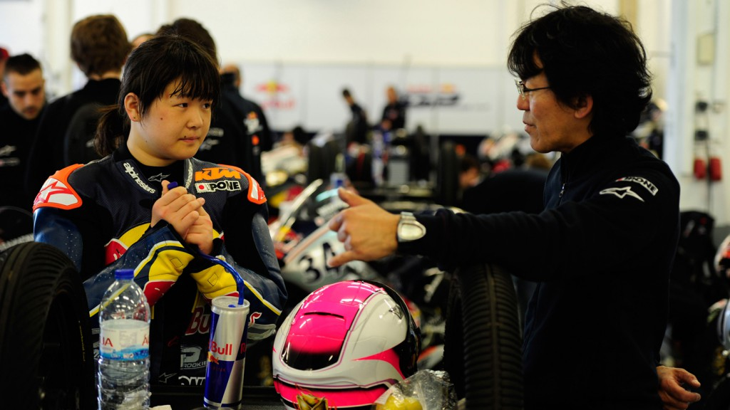 Yui Watanabe, Nobby Ueda, Red Bull Rookies, Test Estoril