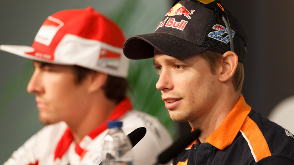 Casey Stoner, Repsol Honda Team, Gran Premio bwin de España Press Conference