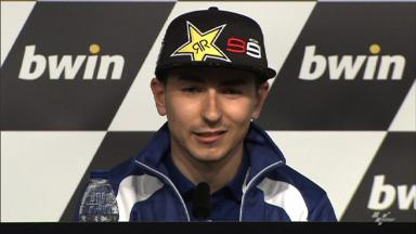 Lorenzo praises team´s positive start to championship