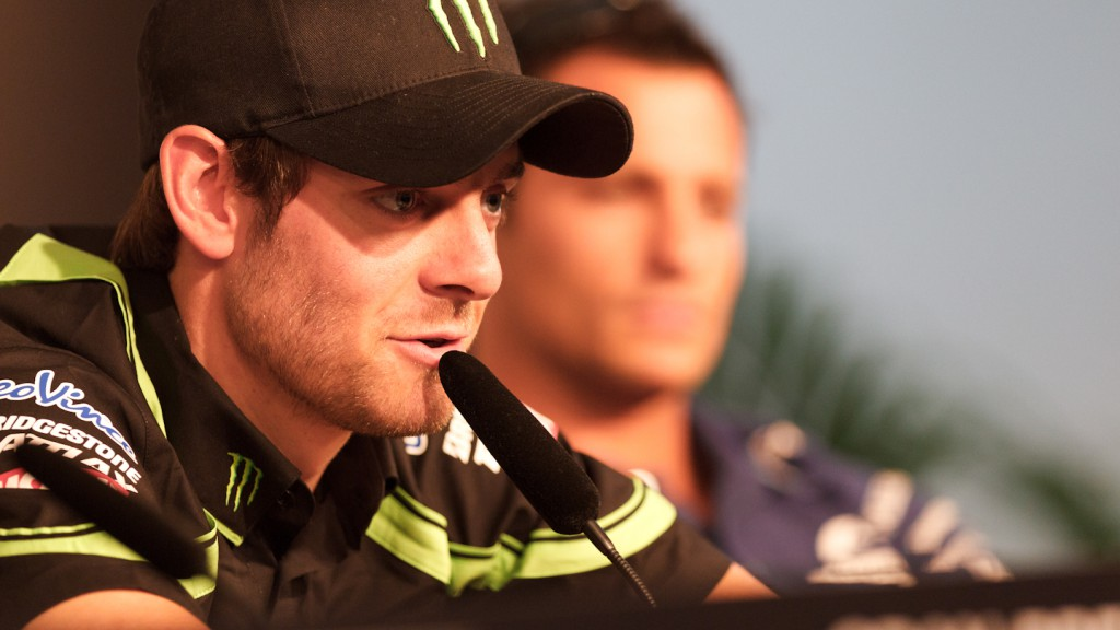 Cal Crutchlow, Yamaha Tech 3, Gran Premio bwin de España Press Conference