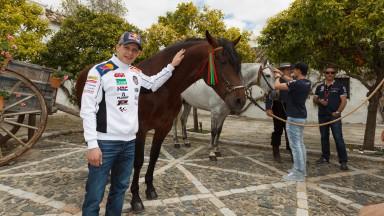 Stefan Bradl, MotoGP Jerez Preevent