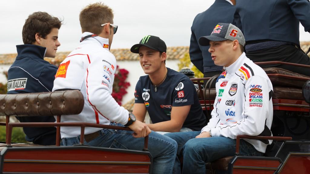 Bradl, Fenati, Bautista, Espargaro, MotoGP Jerez Preevent