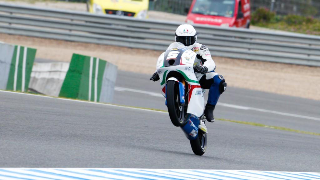 Romano Fenati, Team Italia FMI, Jerez FP2